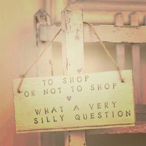 To Shop or Not to Shop 👗👛